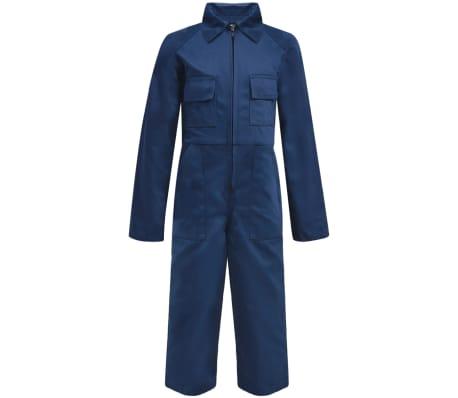 vidaXL Salopetă pentru copii, mărime 110/116, albastru[1/6]