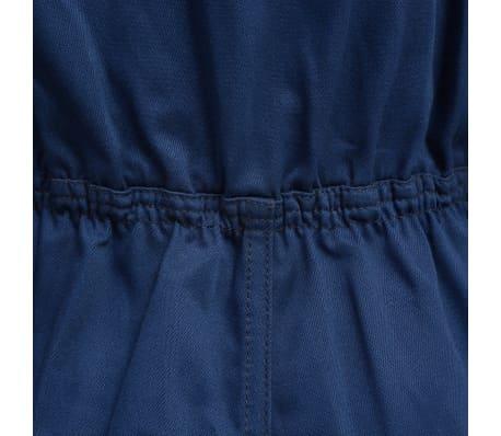 vidaXL Salopetă pentru copii, mărime 110/116, albastru[3/6]