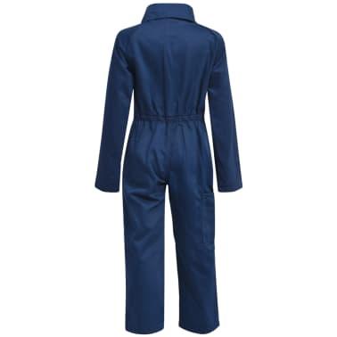 vidaXL Salopetă pentru copii, mărime 110/116, albastru[2/6]