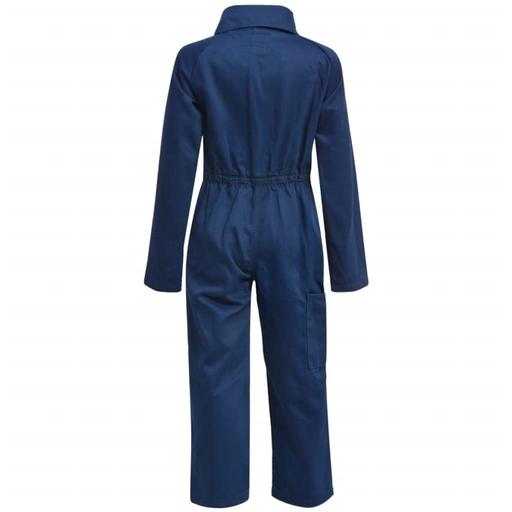 vidaXL Dětské montérky / kombinéza 158/164 modré