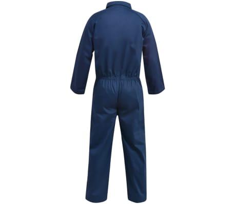 vidaXL Salopetă pentru bărbați, mărime M, albastru[2/6]
