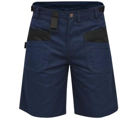 acheter vidaxl pantalons courts de travail pour hommes taille m bleu pas cher. Black Bedroom Furniture Sets. Home Design Ideas