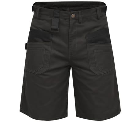 vidaXL Pantaloni scurți de lucru pentru bărbați, mărime M, gri