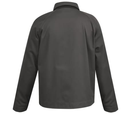 vidaXL Chaqueta de trabajo de hombre talla XL gris[2/3]