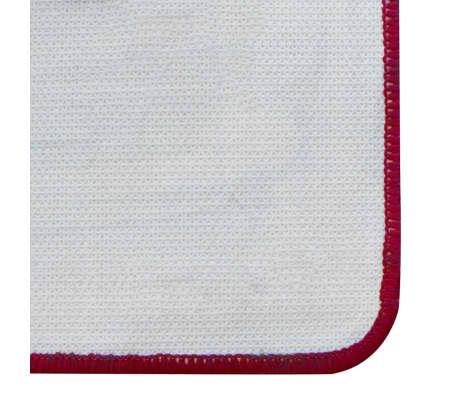 vidaXL Smiginio kilimėlis, 79x237 cm, žalia ir raudona[3/3]