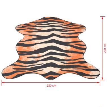 vidaXL Kilimas 150x220cm, tigro raštas[3/3]