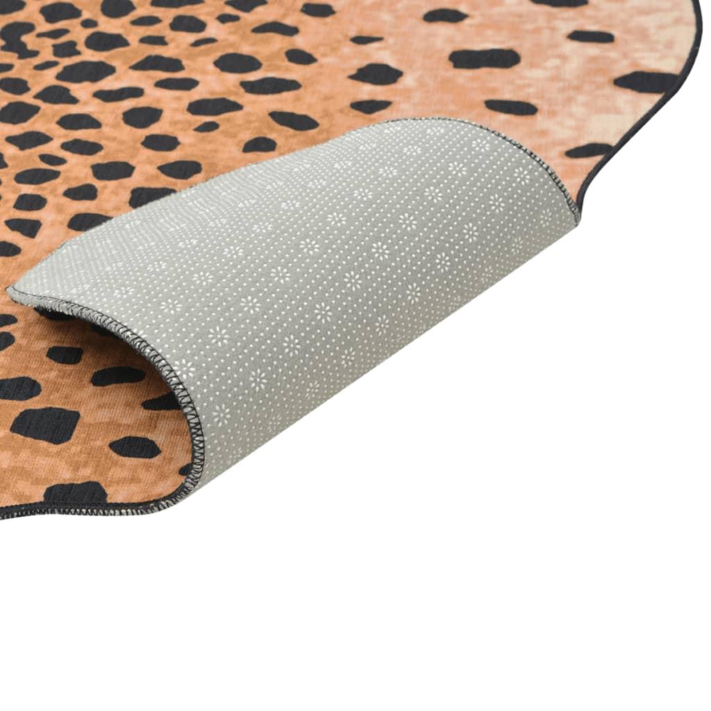 vidaXL Tvarovaná rohož 70x110 cm potisk gepard