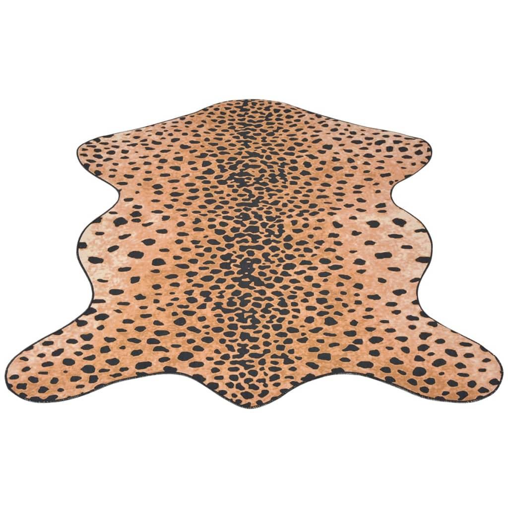 vidaXL Tvarovaná rohož 110x150 cm potisk gepard