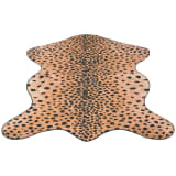 vidaXL Alfombra con forma 150x220 cm estampado de guepardo