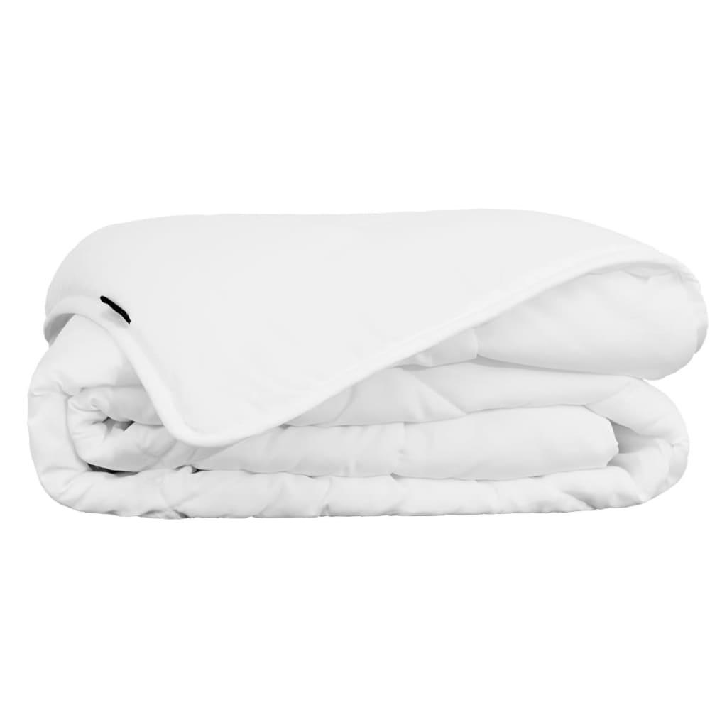 vidaXL Letní peřina / přikrývka 240x220 cm bílá