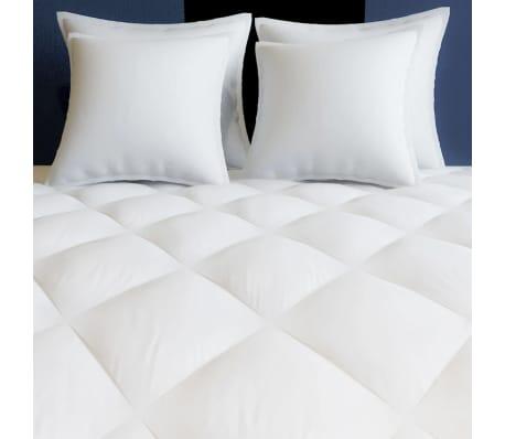 acheter vidaxl couette dredon d 39 hiver toutes saisons 200 x 220 cm blanc pas cher. Black Bedroom Furniture Sets. Home Design Ideas