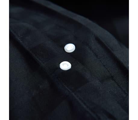 vidaxl 3 tlg bettw sche set baumwollsatin 200x200 60x70 cm schwarz im vidaxl trendshop. Black Bedroom Furniture Sets. Home Design Ideas
