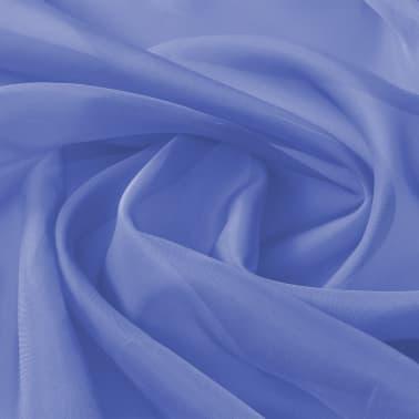 vidaXL Audinys, muslinas, 1,45x20m, ryškiai mėlyna[1/2]