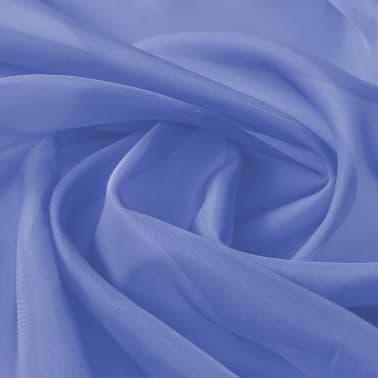 vidaXL Audinys, muslinas, 1,45x20m, ryškiai mėlyna[2/2]