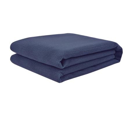 vidaXL Palapinės kilimėlis, 250x200 cm, mėlynas[2/3]