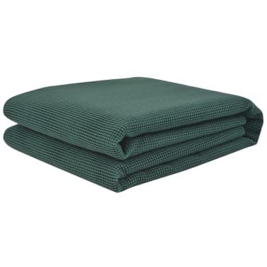 vidaXL Palapinės kilimėlis, 250x400cm, žalios spalvos[2/3]