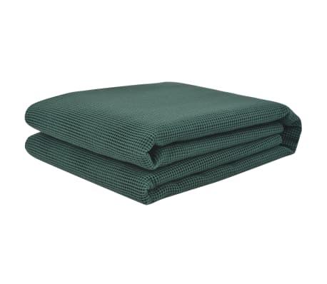 vidaXL Килим за палатка, 250x600 см, зелен
