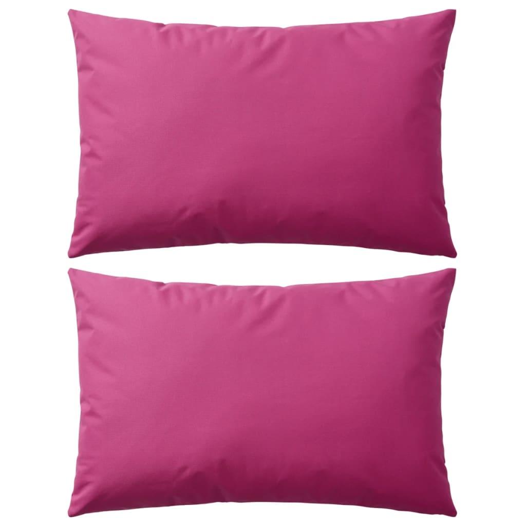 999132296 Gartenkissen 2 Stk. 60 x 40 cm Rosa