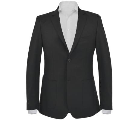 vidaXL Blazer pour hommes Taille 54 Noir