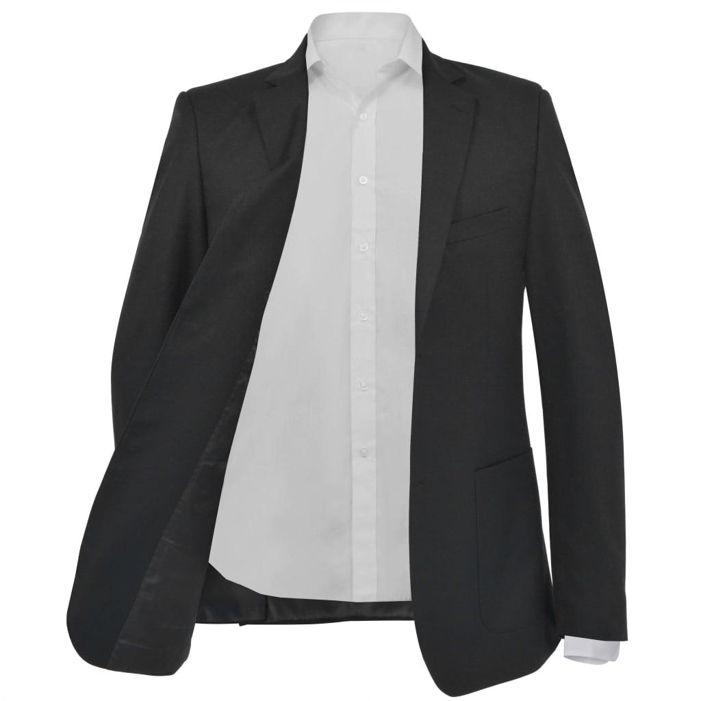 vidaXL Pánské business sako, černé, vel. 54