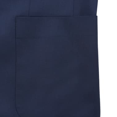 vidaXL Blazer pour hommes Taille 54 Bleu marine[5/6]