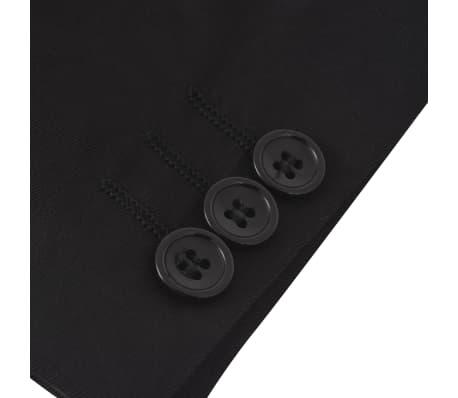 vidaXL jakkesæt til børn tre dele størrelse 104/110 sort[7/12]