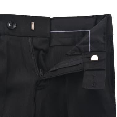 vidaXL jakkesæt til børn tre dele størrelse 104/110 sort[11/12]