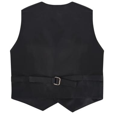 vidaXL jakkesæt til børn tre dele størrelse 104/110 sort[5/12]