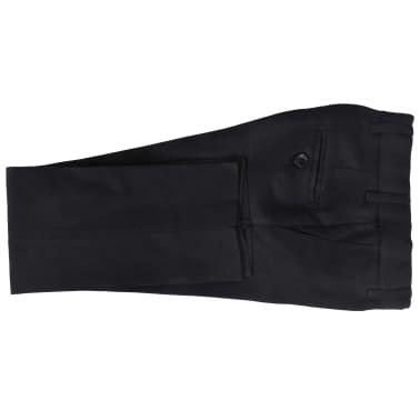 vidaXL jakkesæt til børn tre dele størrelse 104/110 sort[6/12]
