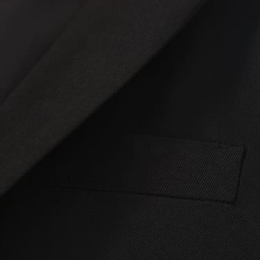 vidaXL jakkesæt til børn tre dele størrelse 104/110 sort[8/12]