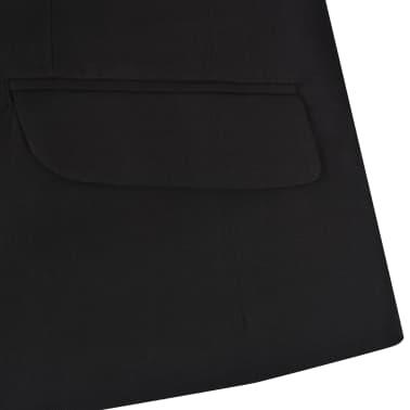 vidaXL jakkesæt til børn tre dele størrelse 104/110 sort[9/12]