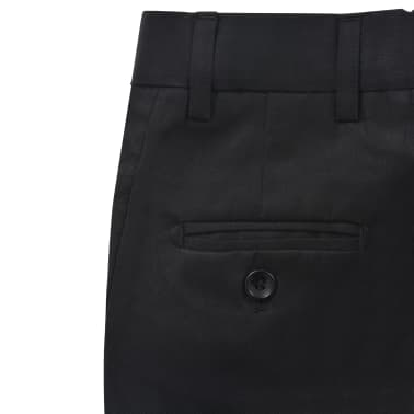 vidaXL jakkesæt til børn tre dele størrelse 104/110 sort[10/12]