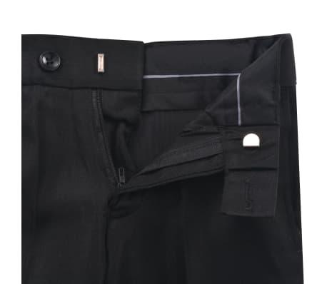 vidaXL Jungen-Anzug 3-tlg. Größe 140/146 Schwarz[11/12]