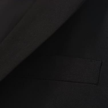 vidaXL Jungen-Anzug 3-tlg. Größe 140/146 Schwarz[8/12]