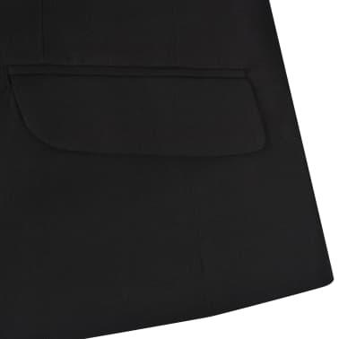 vidaXL Jungen-Anzug 3-tlg. Größe 140/146 Schwarz[9/12]