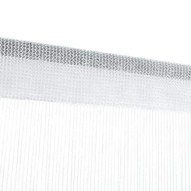 vidaXL trådgardiner 2 stk. 140 x 250 cm hvid[4/4]
