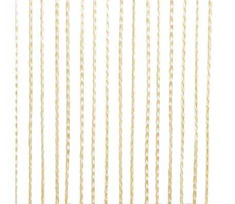 58447a95424 vidaXL nöörkardinad 2 tk, 100 x 250 cm, kreemjasvalge   vidaXL.ee