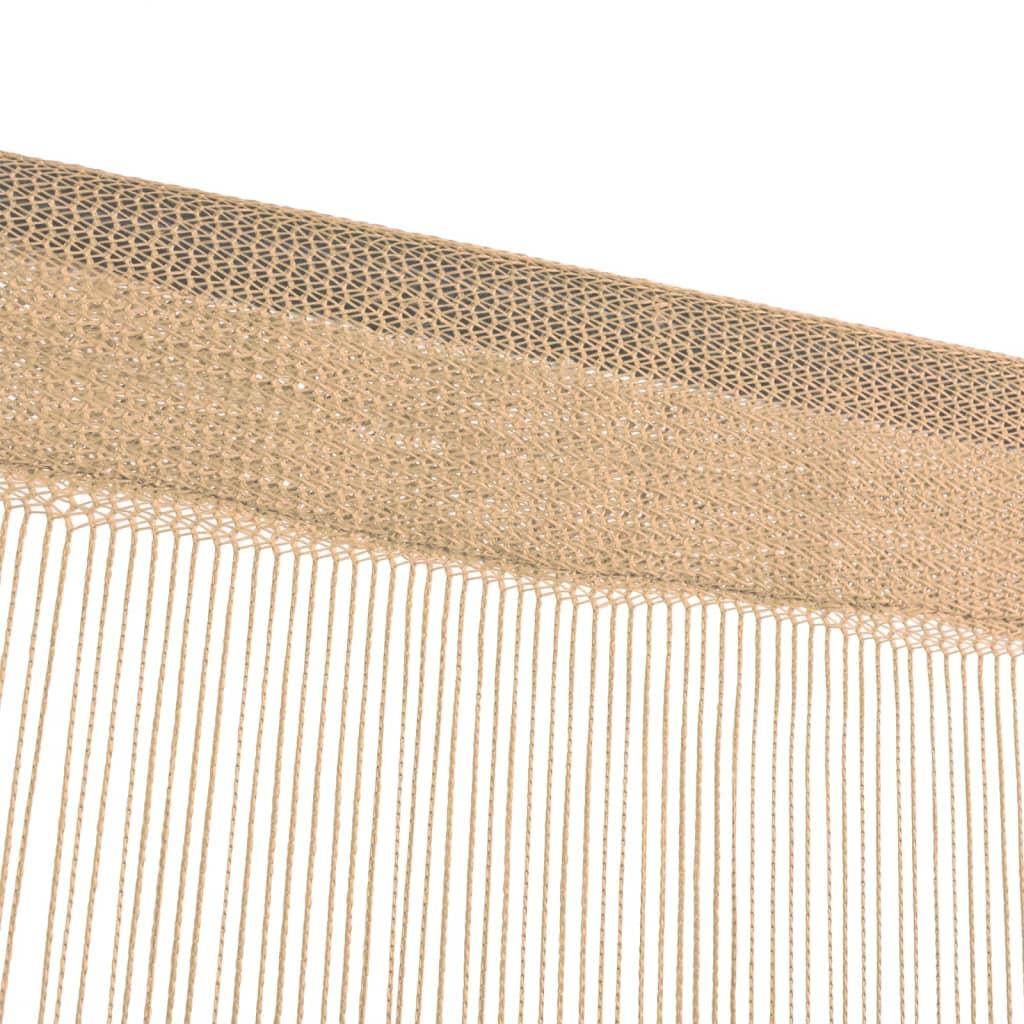 6c1258f164d vidaXL nöörkardinad 2 tk, 140 x 250 cm, beež