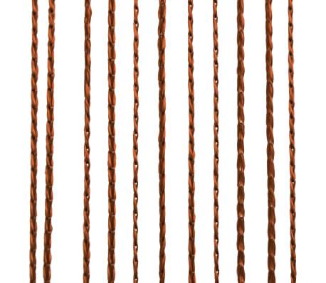 261e079c702 vidaXL nöörkardinad 2 tk, 100 x 250 cm, pruun   vidaXL.ee