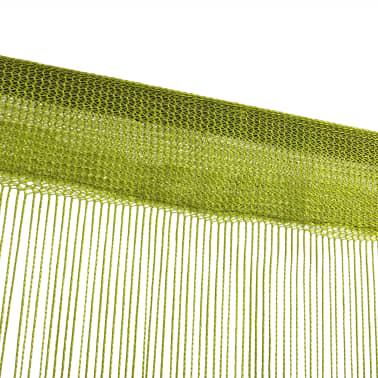 vidaXL Κουρτίνες με Κρόσσια 2 τεμ. Πράσινες 100 x 250 εκ.[4/4]