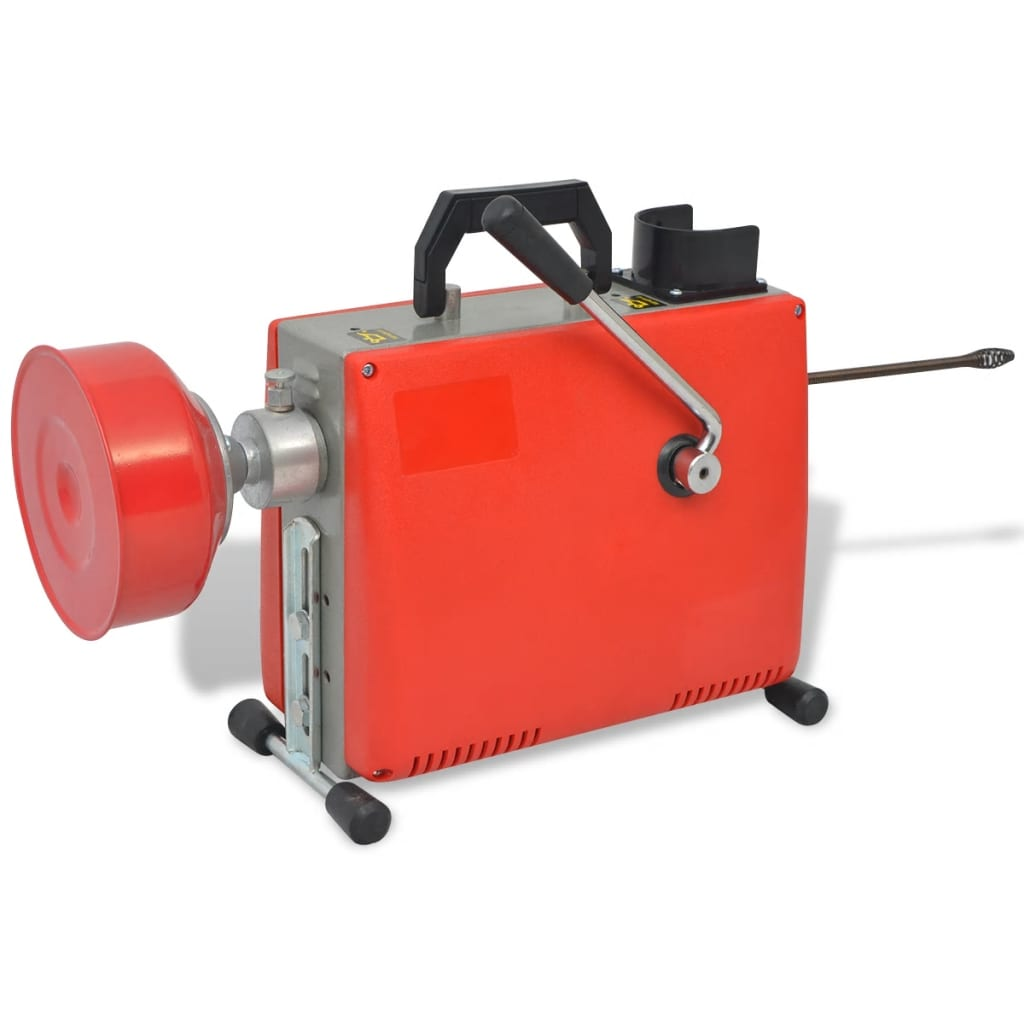 VidaXL Leidingreinigingsmachine 250 W 15 m x 16 mm 4,5 m x 9,5 mm