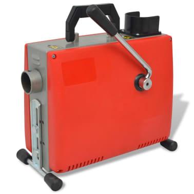 vidaXL Vamzdžių valymo įrenginys, 250W, 15mx16mm, 4,5mx9,5mm[3/10]