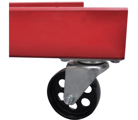vidaXL Werkstattkran 2 Tonnen Klappbar 88,2 kg[4/5]