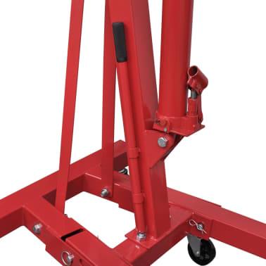 vidaXL Werkstattkran 2 Tonnen Klappbar 88,2 kg[3/5]