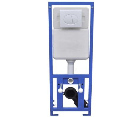 vidaXL Cisterna alta oculta 11 L 41x14x (110-125) cm[2/7]