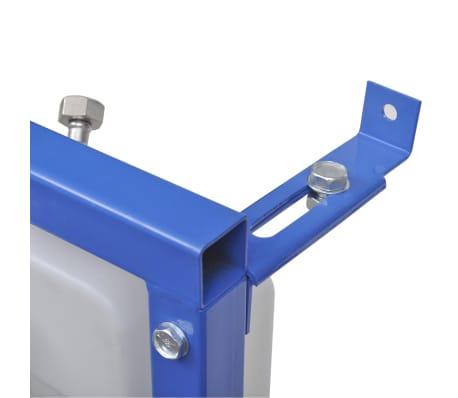 vidaXL Cisterna alta oculta 11 L 41x14x (110-125) cm[3/7]