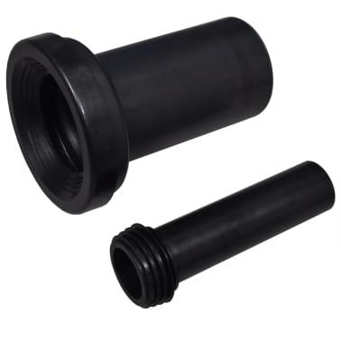 vidaXL Cisterna alta oculta 11 L 41x14x (110-125) cm[5/7]