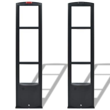 vidaXL RF antenos sistema su siųstuvu bei gavėju, 8,2 MHz, juoda[1/8]