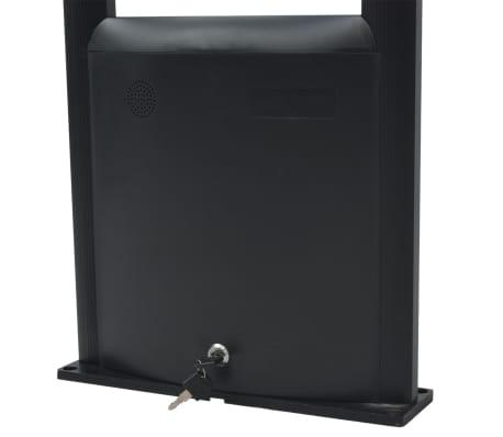 vidaXL RF antenos sistema su siųstuvu bei gavėju, 8,2 MHz, juoda[4/8]