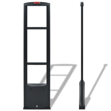 vidaXL RF antenos sistema su siųstuvu bei gavėju, 8,2 MHz, juoda[2/8]
